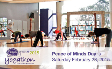 2015 Peace of Minds Yogathon for Schizophrenia