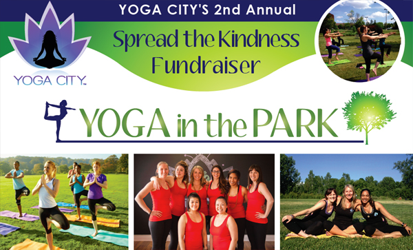 YOGA CITY'S 2nd Annual – Spread the Kindness Fundraiser