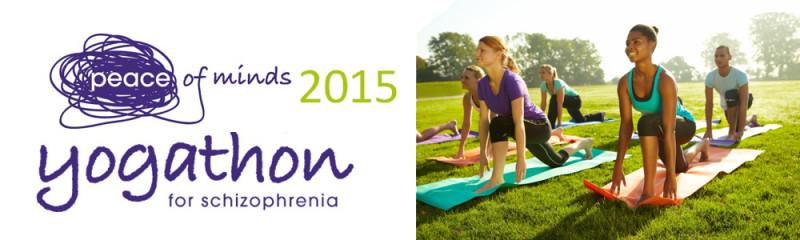 2015 Summer Edition Peace of Minds Yogathon for Schizophrenia