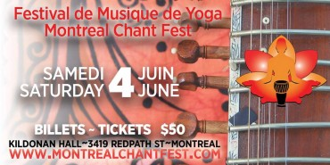2016 Le Festival de Musique Yoga de Montreal / Montreal Chant Fest