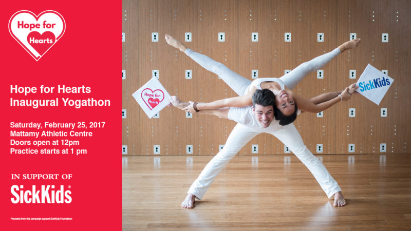 Hope for Hearts Inaugural Yogathon