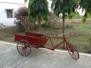 Red Bicycle at Auro Valleyle